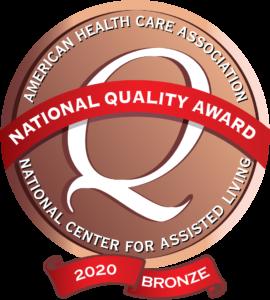 Image: 2020 Quality Bronze Award